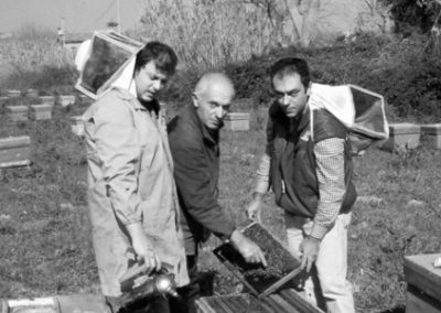 Giuseppe Menna e Giustino Tano - Apicoltore Mielizia