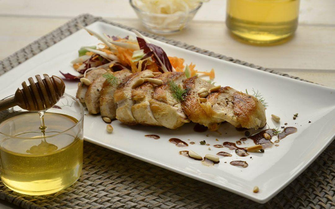 Pollo con miele di acacia e aceto balsamico