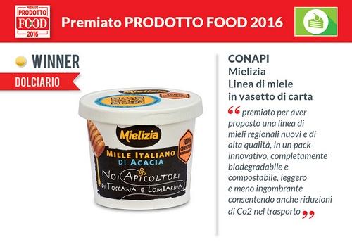 Mielizia vince il premio Food 2016!