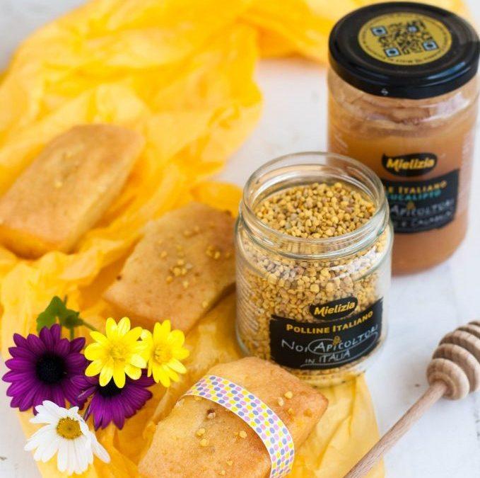 Mini plumcake al miele di eucalipto e polline