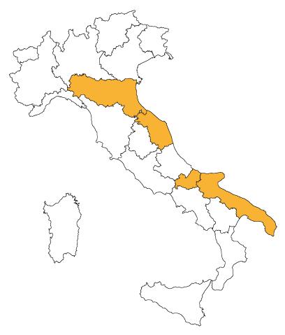 Miele Coriandolo in Italia