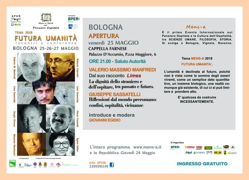 Al via Mens-A 2018, l'intelligenza ospitale a Bologna