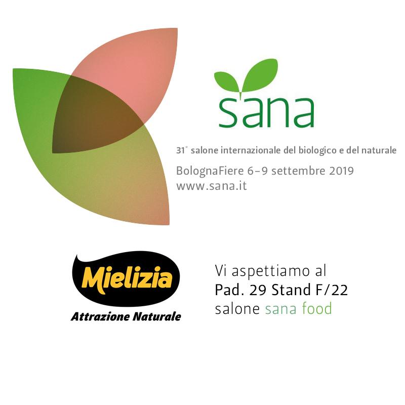 Mielizia a Sana 2019 Bologna - fiera internazionale del biologico e del naturale