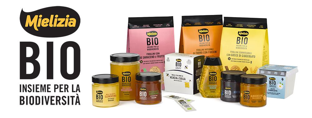 Mielizia Bio - Linea biologica di miele, frollini, composte di frutta e gelati