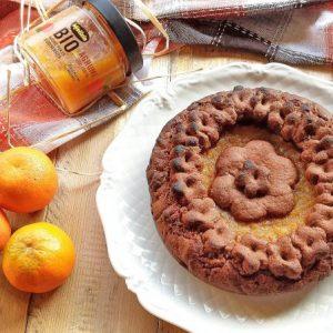 Ricetta - Crostata al cioccolato e composta di agrumi Mielizia