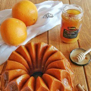 Ricetta - Ciambella bundt cake alle Arance con Miele e Cannella