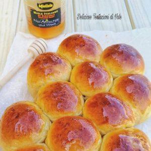 Ricetta - Brioche alla zucca con glassa di miele Mielizia