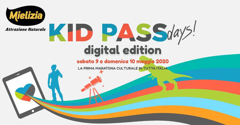 Mielizia e KidPassDays 2020, primo evento digitale per famiglie e bambini