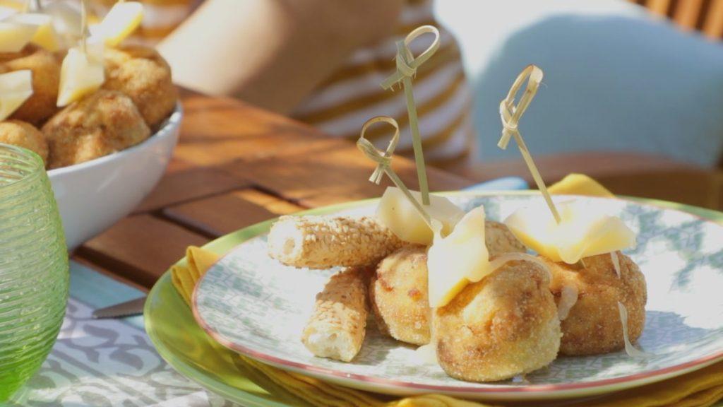 Ricetta - Polpettine di melanzane piccanti con miele di tiglio