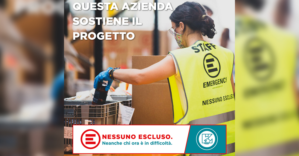 """Mielizia con Emergency per il progetto """"Nessuno Escluso"""""""