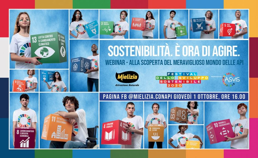festival sviluppo sostenibile - webinar facebook mielizia 1 ottobre 2020