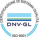 mielizia - certificazione - ISO 9001 (DNV-GL)