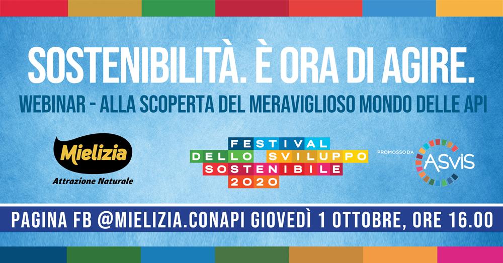 Mielizia partecipa al Festival dello Sviluppo Sostenibile