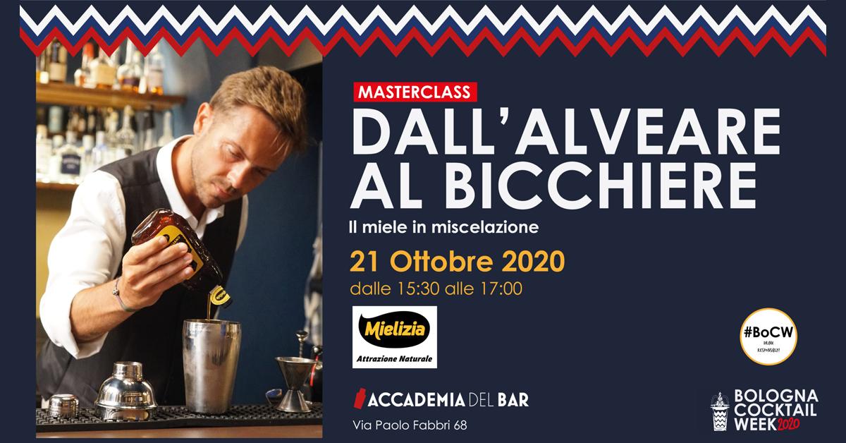 bologna cocktail week 2020 - Masterclass Mielizia 21 ottobre