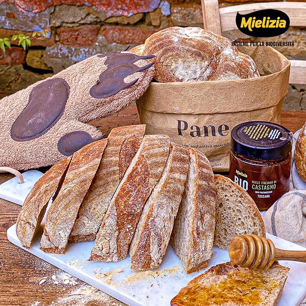 Ricetta facile per pane semi integrale miele di castagno Mielizia