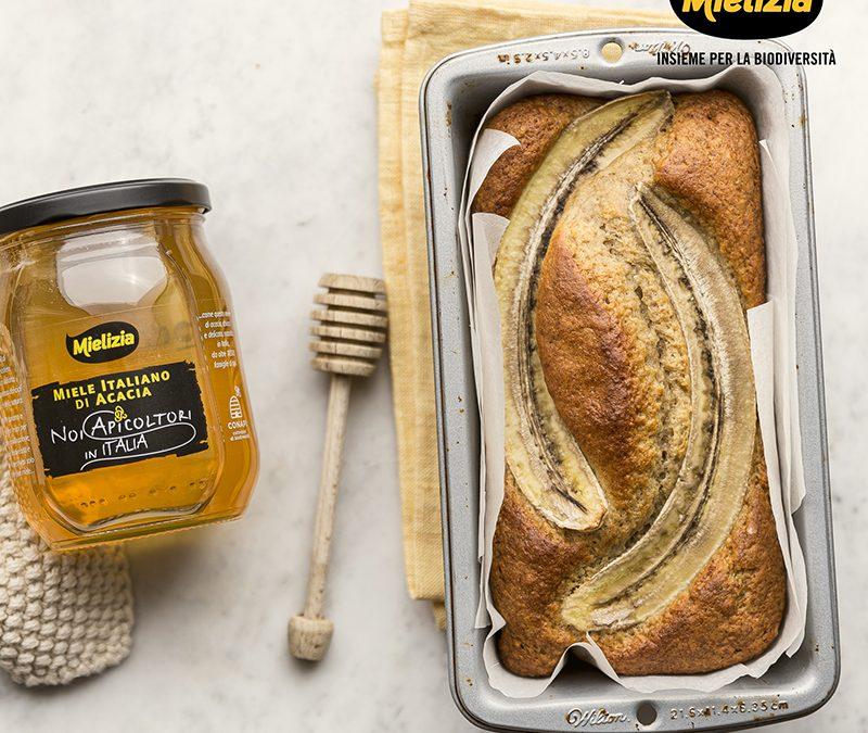 Banana bread con miele di acacia