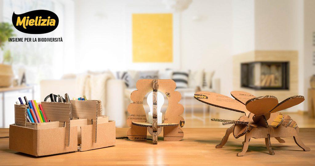 Mielizia - Istruzioni per riciclo creativo - Box EcoDesign Shop Mielizia