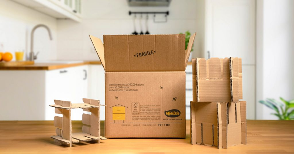 Nasce la Box di EcoDesign per lo Shop Mielizia