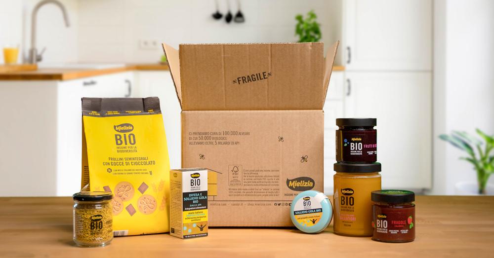 Nasce la Box di EcoDesign per l'e-shop Mielizia