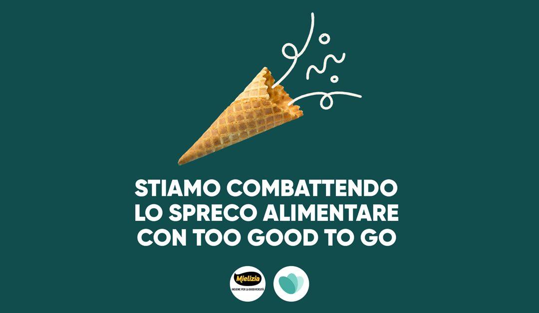 Mielizia aderisce a Too Good To Go, app n.1 contro lo spreco alimentare