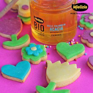Ricetta - Biscotti frollini di primavera al miele di acacia