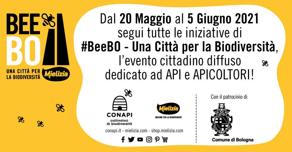 Mielizia presenta #BeeBO – Una Città per la Biodiversità: Bologna amica delle api e dell'ambiente