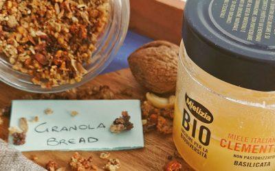Le ricette della nutrizionista per ridurre gli sprechi in cucina – Granola Bread