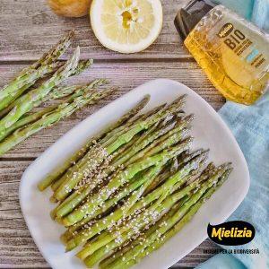 Ricetta asparagi agrodolce glassati contorno primavera