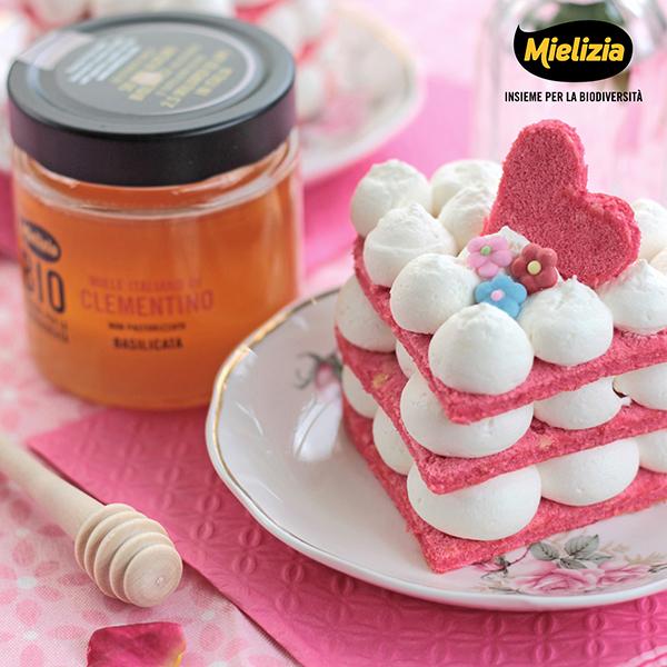 Ricetta facile - mini naked cake al miele di clementino - festa della mamma
