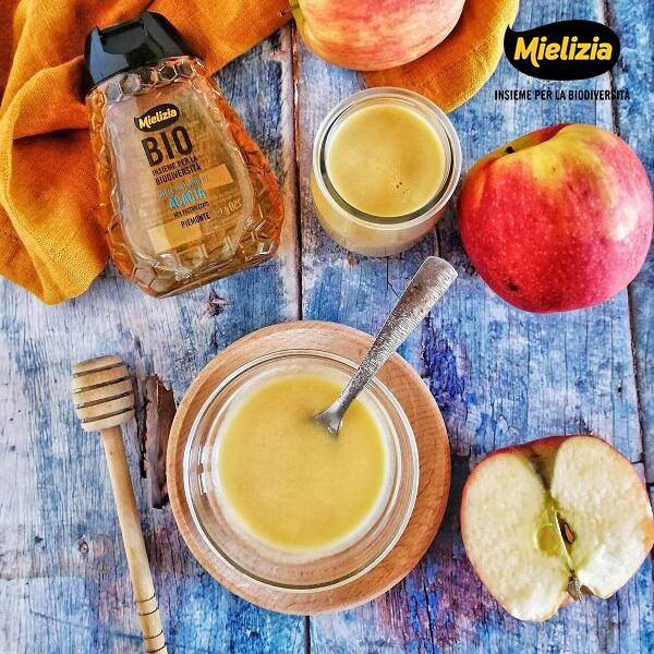 ricetta mielizia - salsa agrodolce alle mele con miele di acacia