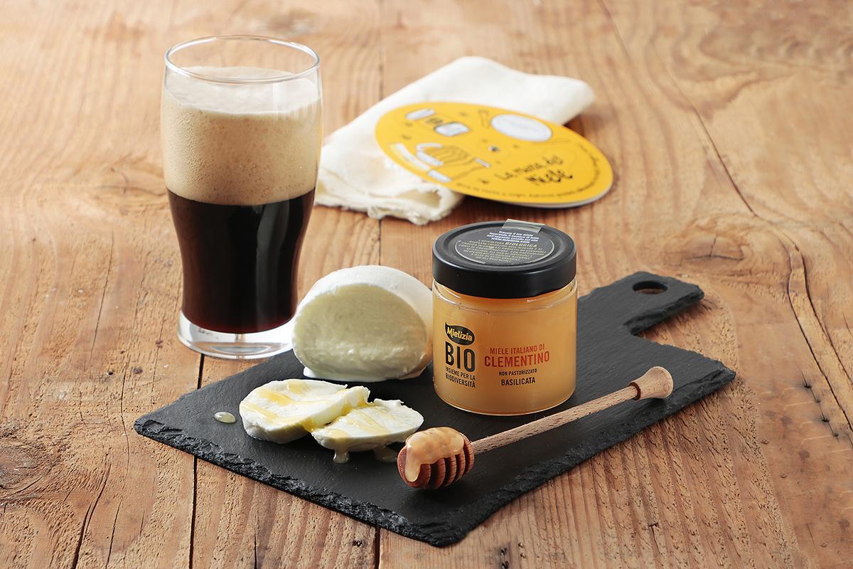 mielizia blog - abbinamento miele clementino agrumi mozzarella bufala birra rauch degustazione aperitivo