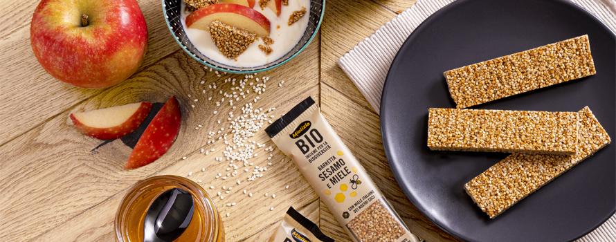 Barrette al sesamo e miele: le proprietà benefiche di uno snack naturale