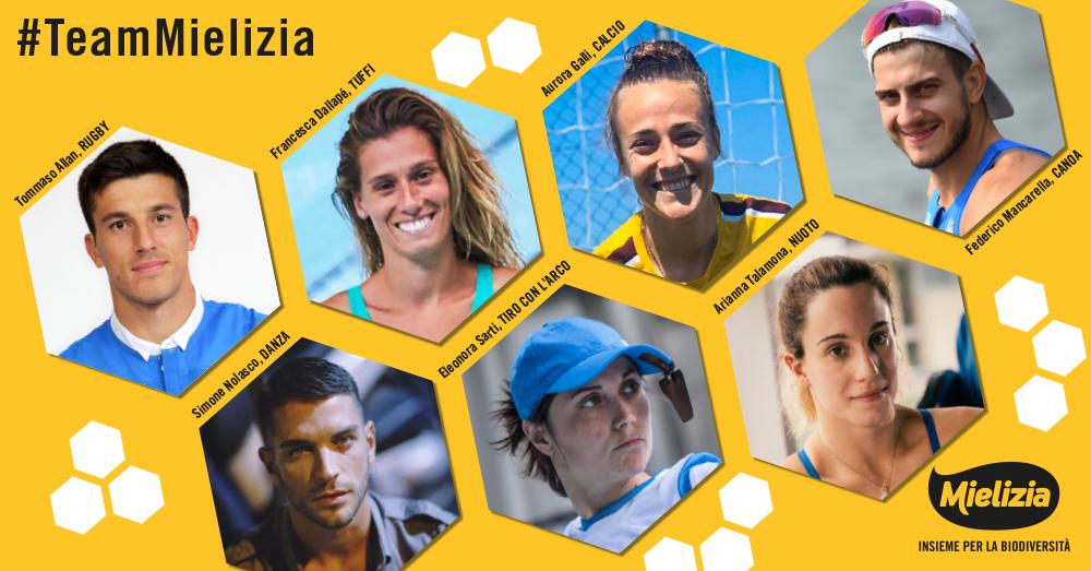 L'energia naturale per gli atleti del #TeamMielizia: continua l'impegno di Mielizia a sostegno dello sport