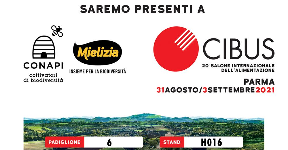 Mielizia a CIBUS 2021 Parma