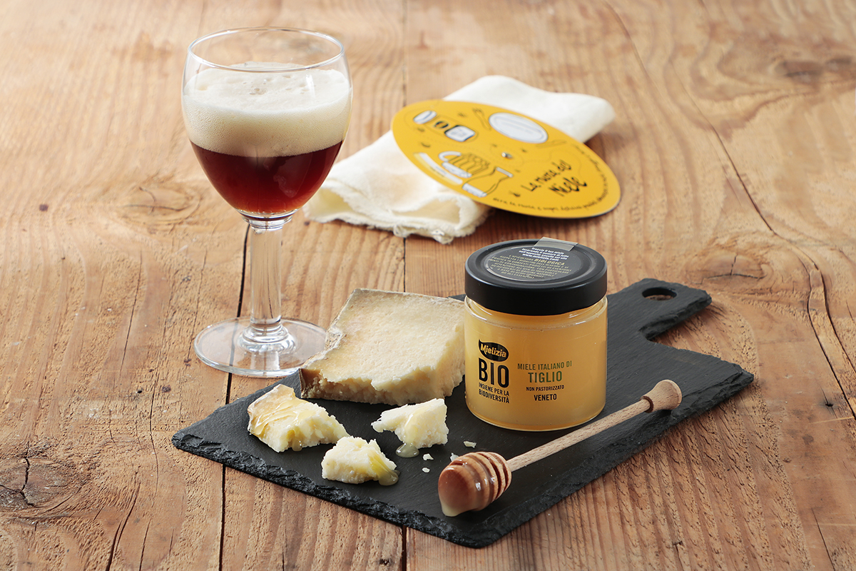 Come abbinare birra miele TIGLIO formaggio - castelmagno barley wine trappista rochefort8